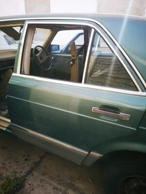 Mercedes-Benz W126 Left Rear Door Shell