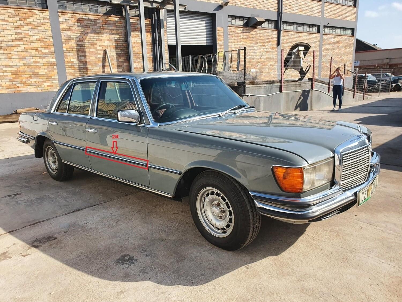 Mercedes-Benz Right Front Door Beading (W116)