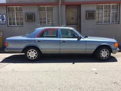 Mercedes-Benz Right Rear Upper Window Trim (W126)