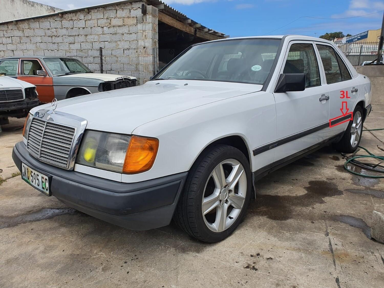 Mercedes-Benz Left Rear Door Beading (W124)