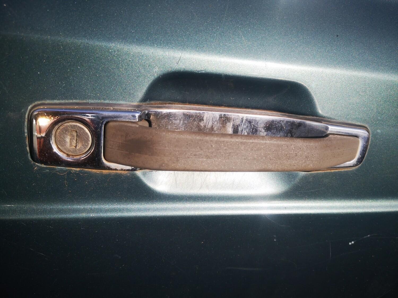 Mercedes-Benz Right Front Exterior Door Handle (W126)