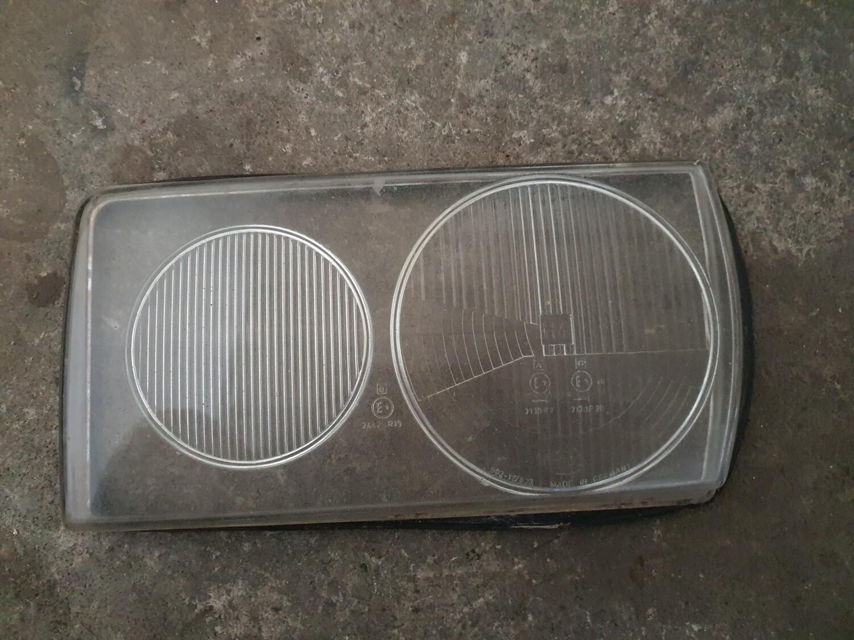 Mercedes-Benz Left Headlight Glass (W123)