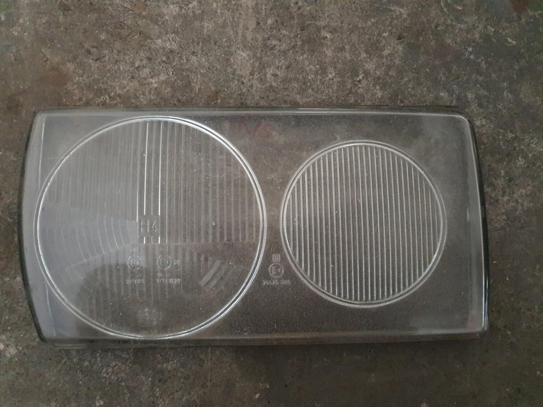 Mercedes-Benz Right Headlight Glass (W123)
