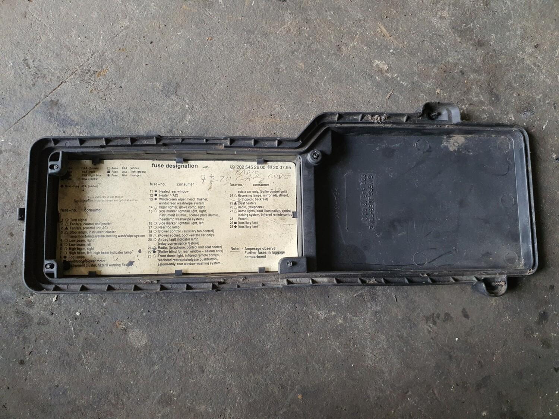 Mercedes-Benz Fuse Box Cover (W202)