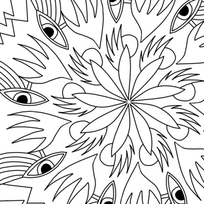 COLORIAGE #1  - Oudjat