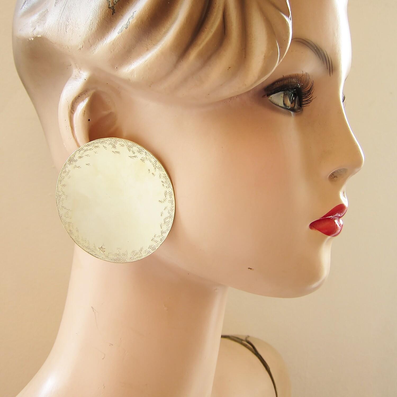 Boucles d'oreille Pastille N°5 - clou