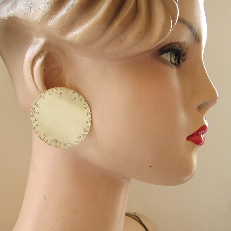 Boucles d'oreille Pastille N°4 - clou