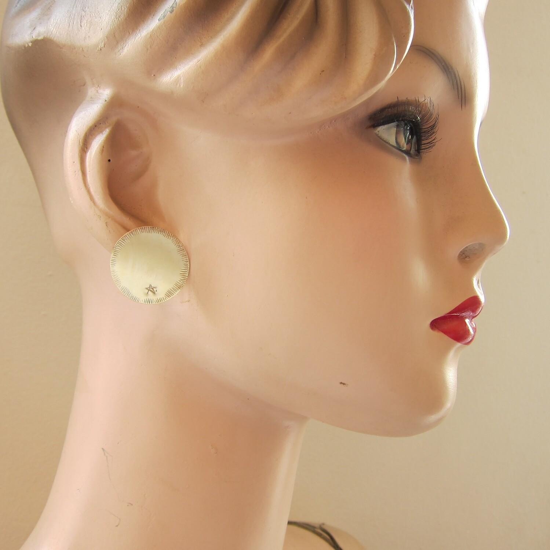 Boucles d'oreille Pastille N°2 - clou