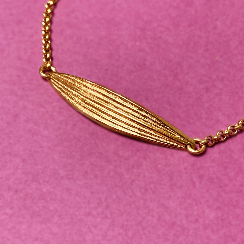 Bracelet Laurier petite feuille