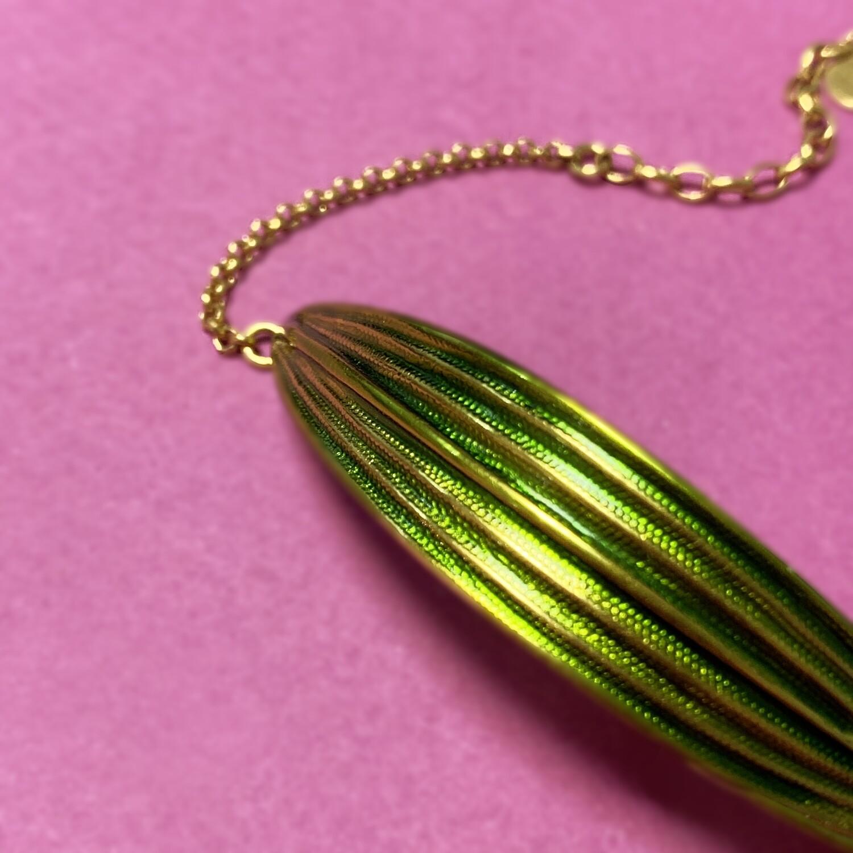 Grand Bracelet Laurier vert