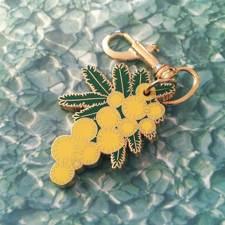 Porte-clé Mimosa