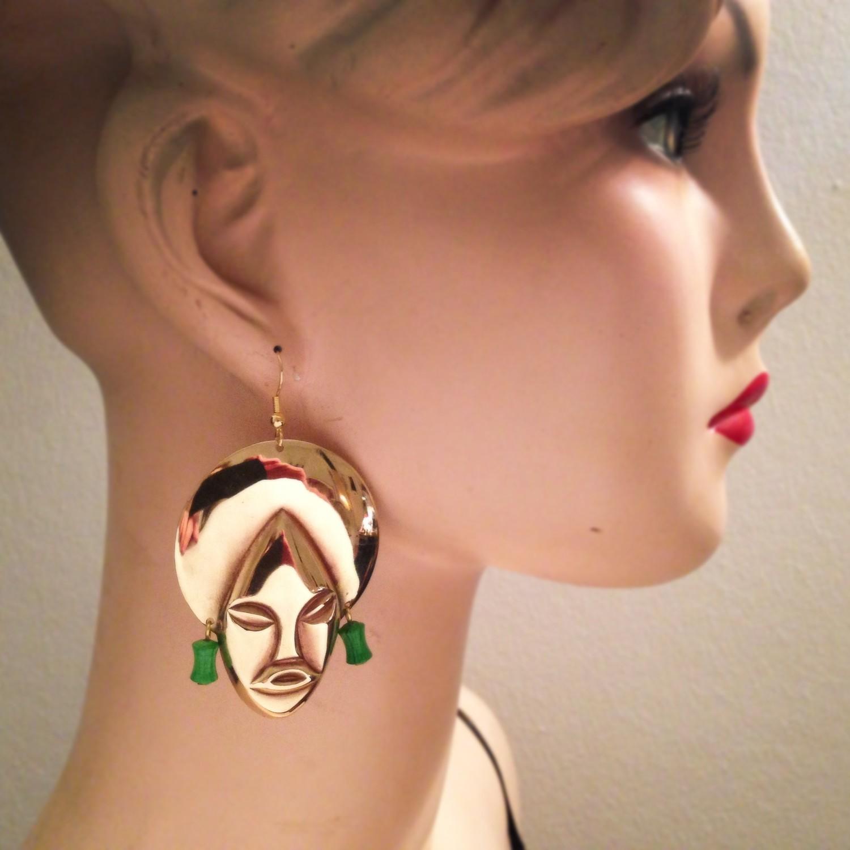 Boucles d'oreille Remenber - Perles rouges