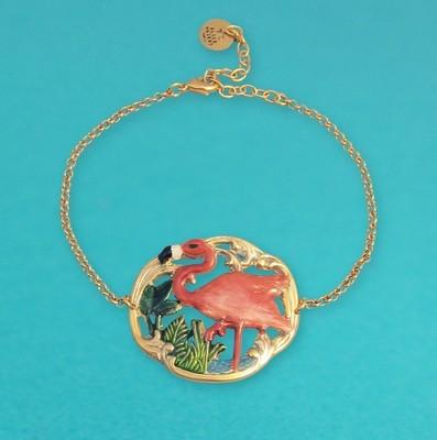 Bracelet Tiki Flamingo - Petit modèle