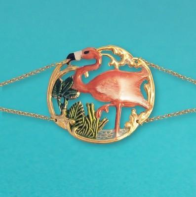 Bracelet Tiki Flamingo - Grand modèle