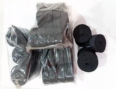 Pure Coconut Charcoal Briquettes 12pcs