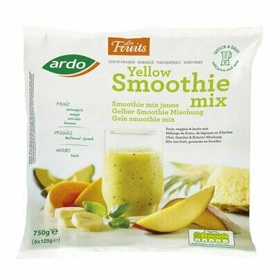 Ardo Yellow Smoothie Mix Fresh Frozen (Belgium) 750gms