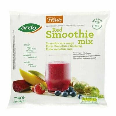 Ardo Red Smoothie Mix Fresh Frozen (Belgium) 750gms