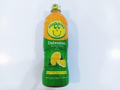 Squeezed 4 U Dalandan Juice Concentrate with Honey 750ml