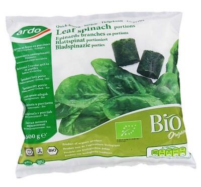 Ardo Leaf Spinach Portions Fresh Frozen (Belgium) 600gms