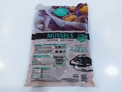 Whole Chilean Mussels 1kg