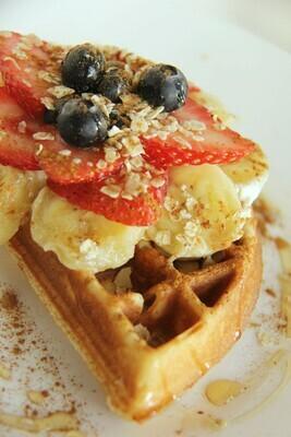 PAMI'S BREAKFAST  (1/2 waffle)