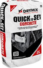 Drymix Quick to Set Concrete 20KG