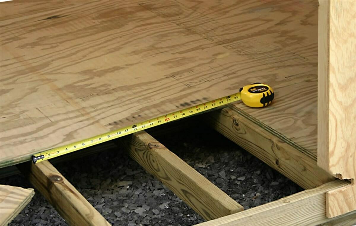 Plywood Flooring F11 CD 19MM 2400X1200