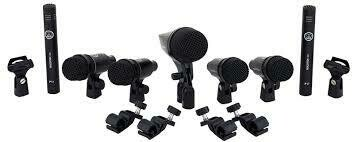 AKG drumset mics