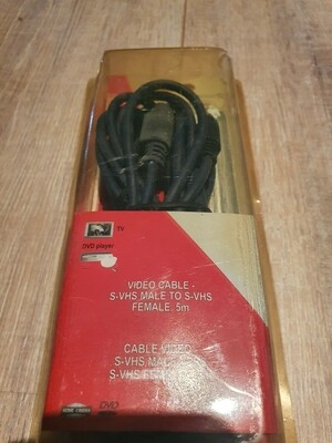 Video cable S-vhs 5m