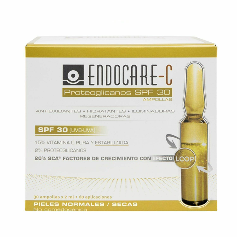 ENDOCARE C PROTEOGLICANOS SPF30 AMPOLLAS ANTIOXIDANTES HIDRA