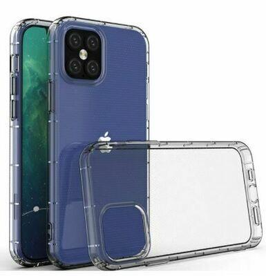 iPhone 12 & 12 Pro Handy Hülle - Durchsichtig