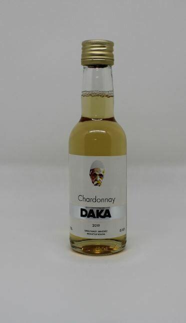 24 x DAKA Chardonnay 0,187l (Kleine Flaschen) - Weißwein aus dem Kosovo