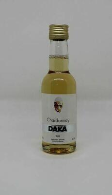 DAKA Chardonnay 0,187l (Kleine Flaschen) - Weißwein aus dem Kosovo