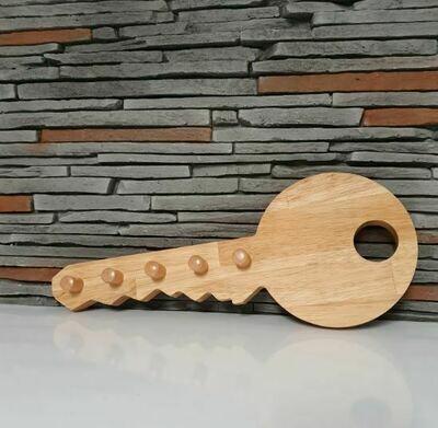 Schlüsselleiste aus hochwertigem Holz