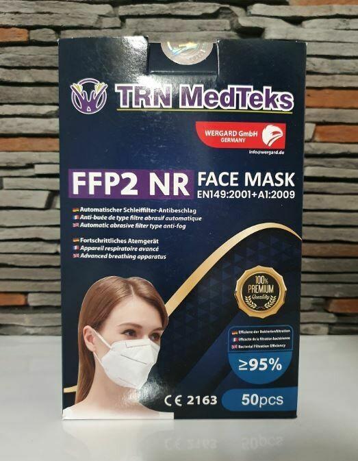 50 X FFP2 Masken CE - Zertifiziert - Inkl. Versand innerhalb Deutschland