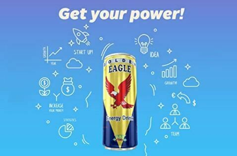 Golden Eagle Energy Drink 24 x 250ml (inkl. 6 EUR Pfand) zzgl. Versand