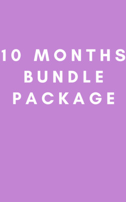 10 Months Bundle Package