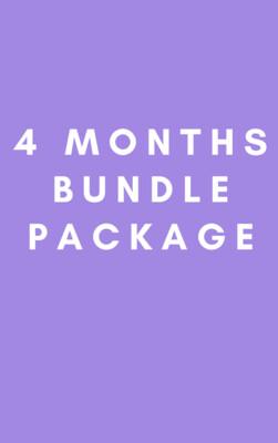 4 Months Bundle Package