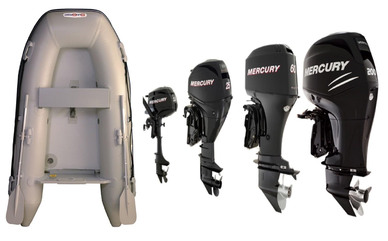 Sun Sport / Talamex, Flat Air Deck AD 230 / Various Motor Options