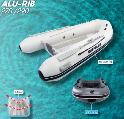 Mercury Quicksilver ALU Rib Craft 2.70m - 4.20m:  SELECT MODEL FOR PRICE