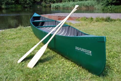 Marine Aluminium Open Indian Canoe Ally Made in Europe