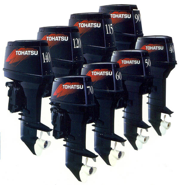 TOHATSU: ALL MODELS: Commercial Use 2 Stroke