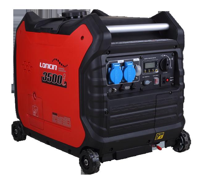 ULTRA QUITE LONCIN LC3500i Generator Petrol 12 230 V 3.3 KW KVA Portable 45Kg