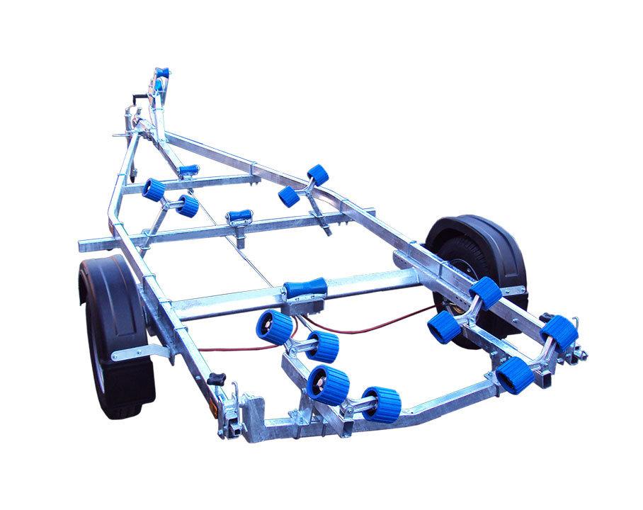 Extreme ~ Braked Single Axle ~  Multi Roller 5-7 m UPTO 1900 Kgs GVW