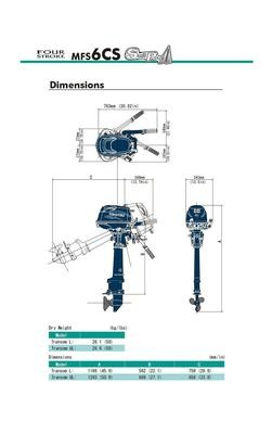 MFS 6D Tohatsu Outboard ~ ALL Models ~ Click to show pricing