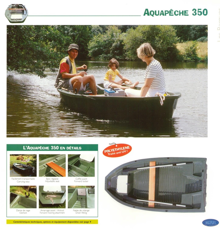 AQUAPECHE Rigiflex (Green) Rowing ~ Fishing Boats; SELECT MODEL FOR PRICE