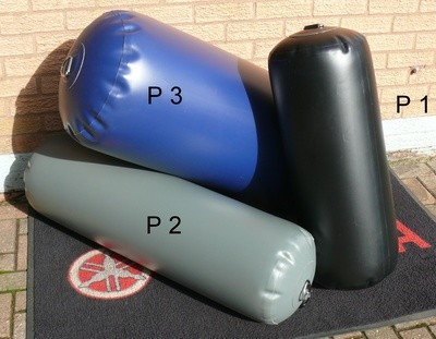 POLYURETHANE (PU) ~ Inflatable Fenders ~ Wide choice of Colours and sizes