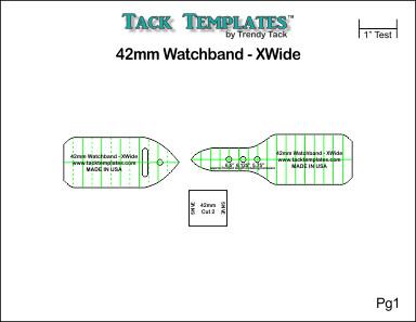 42mm Watch Band - XWide **PDF**