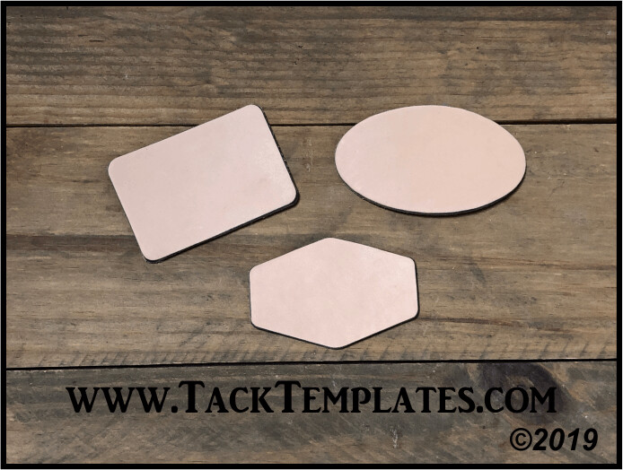Jumbo Patch Leather Blanks