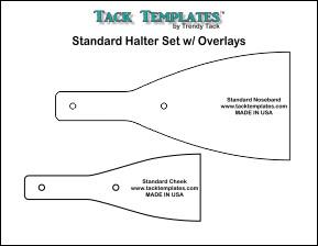 Standard Halter Set w/ Overlays **PDF**